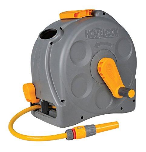 Hozelock - Carrete compacto Compact Reel con 25 m de manguera y todos los accesorios - listo para su uso