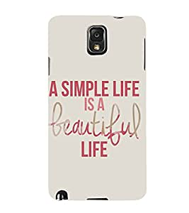Fuson Premium Printed Hard Plastic Back Case Cover for Samsung Galaxy Note 3