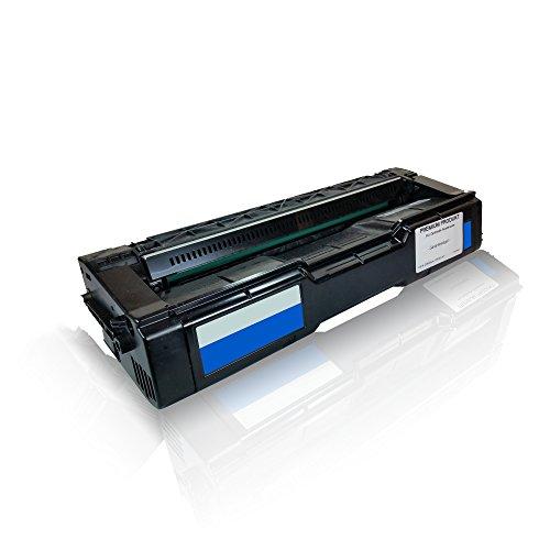 Preisvergleich Produktbild kompatible Tonerkartusche für Ricoh SP C 250 SP C 250 dn SP C 250 e SP C 250 sf SP C 250 sfw SP C250DN SP C250E SP C250SF SP C250SFW SPC Cyan C