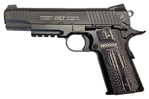 Cybergun-Airsoft-Colt 1911 Combat Unit CO2 180564 blowback -Todo Metal- Calibre 6mm. - 1.1 Julios de Potencia