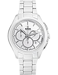 Rado HYPERCHROME R32274012 45mm Automatic Ceramic Case White Ceramic Synthetic Sapphire Men's Watch