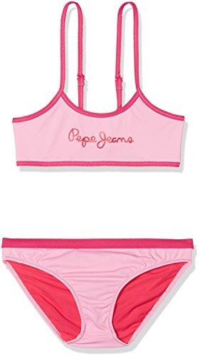 Pepe Jeans Mädchen Badeanzug Edna Jr Bikini, Rosa (Pink), 16 Jahre (Herstellergröße: 16) Preisvergleich