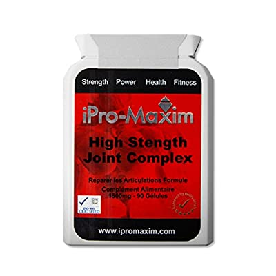 Glucosamine Sulphate High Strength Joint complex Extra Strength 2KCl Joint complex 180 x 1500mg per caplet. Contains Glucose and amino acids called Glutamine is suitable for severe joint problems, aching limbs, cartilage problems including arthritis and m