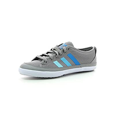 adidas Originals Men's Nizza Remodel Grey Sneakers - 9 UK