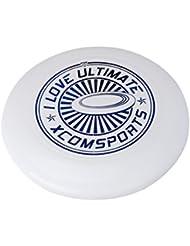 Profesional 175G PE Juguete de Ultimate Frisbee Disco Volador de Color Blanco