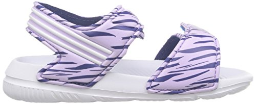 adidas Unisex-Baby Akwah 9 I Lauflernschuhe, Weiß / Violett / Schwarz (Brimor / Ftwbla / Mornat), 27 EU -