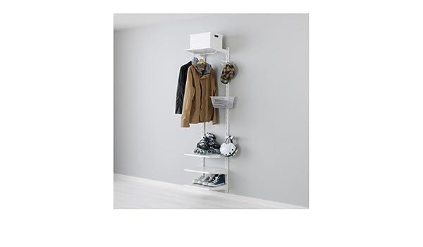 Ikea algot wandschiene böden stange aufbewahrungssystem; in weiß