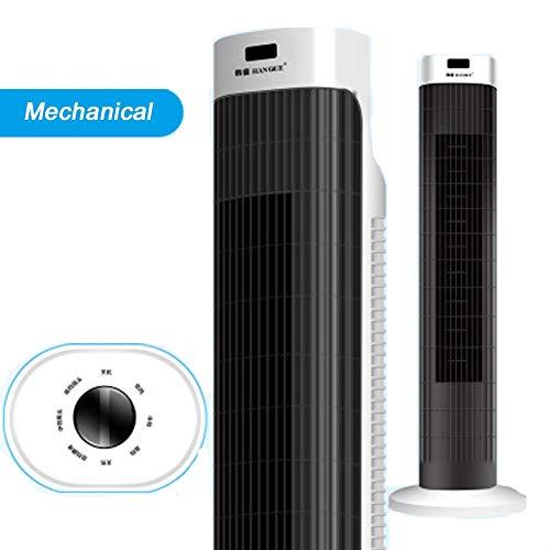 Klimaanlage Tower Fan nach Hause vertikale Deckenventilator Wohnzimmer Fernbedienung Desktop-Lüfter Kopf schütteln blattlosen elektrischen Lüfter Ultra leise 3 Modi 45 W 90 ° Drehung - Abs 4-steuerelemente