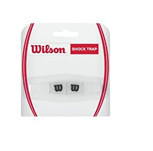 Wilson Shock Trap Tennis Vibration Dampener, Clear Review 2018 by Wilson - Tennis