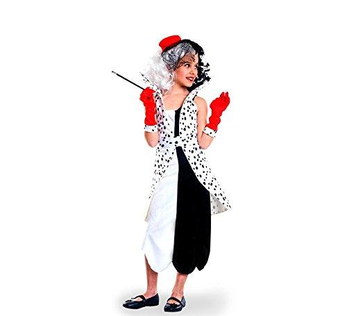Imagen de disfraz de villana dálmata para niña