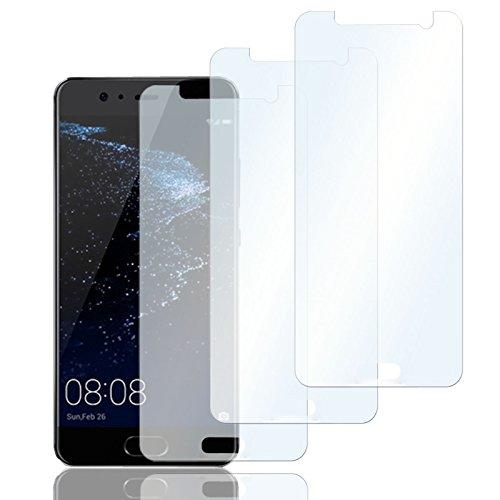 Eximmobile 3X Schutzfolien für Huawei Ascend Y300 Folie | Bildschirmschutzfolie | Bildschirmfolie Schutzfolie | selbstklebend | transparent | blasenfrei | kein Glas | Flexible Folien