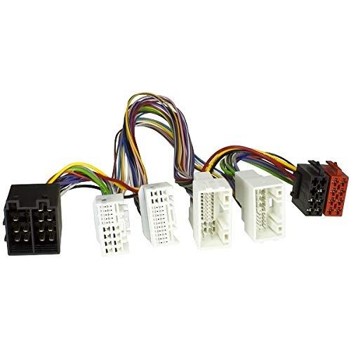 tomzz Audio ® 7319-002 T-Kabel ISO für Hyundai ab 2010, Kia ab 2011 zur Einspeisung von Freisprecheinrichtung ISO Verstärker für THB Parrot Dabendorf i-sotec Match