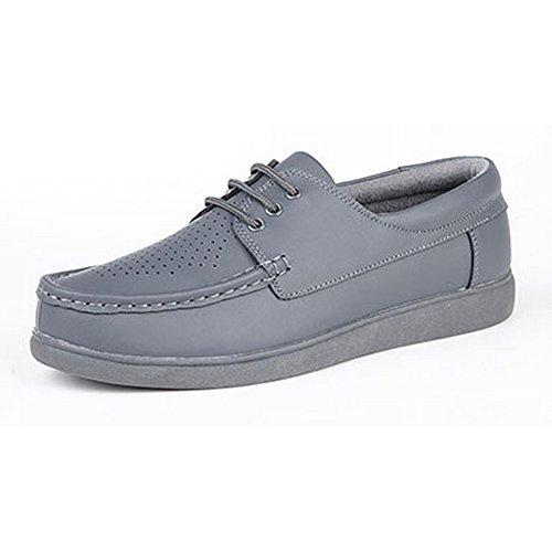 Dek - Chaussures de bowling à lacets - Adulte unisexe Fauve