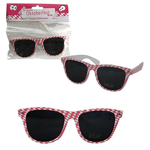 Annastore Sonnenbrille Partybrille Oktoberfest Gagbrille