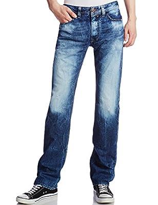Diesel Safado 827V Jeans 0827V Straight Leg Regular Slim Fit