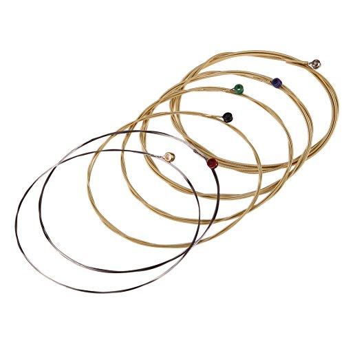 Cuerdas para guitarra, diseño de orfeo de la serie TX, color verde, cuerdas para guitarra acústica folk