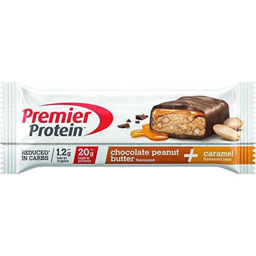 PREMIER PROTEIN Proteinriegel Chocolate Peanut Butter im Test