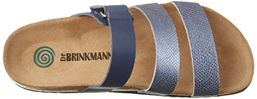 Dr. Brinkmann Damen 701000 Pantoletten Blau (Blau)