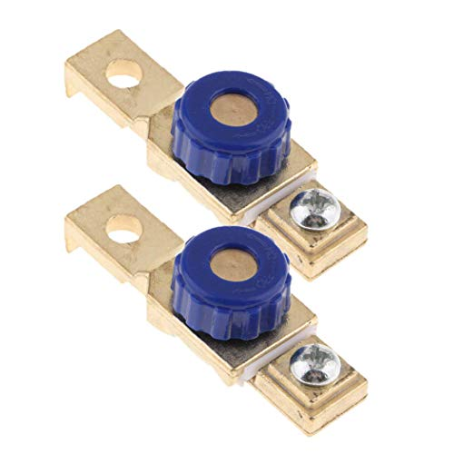 2 unità di batteria per motore di interruzione di energia, interruttore terminale collegamento sconnettore, isolatore
