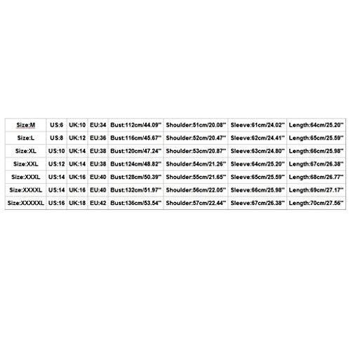 Cárdigans para Hombre LMMVP Chaqueta con Capucha de Punto Sólido Trinchera Abrigo Chaqueta Cardigan de Manga Larga Outwear Blusa Largo Chaqueta Algodón Casual Camisetas Coat Jacket (5XL, Verde)