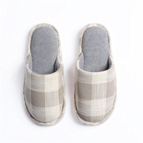 Mhgao quattro stagioni casa pantofole da donna morbido interno e il tempo libero Home pantofole 2
