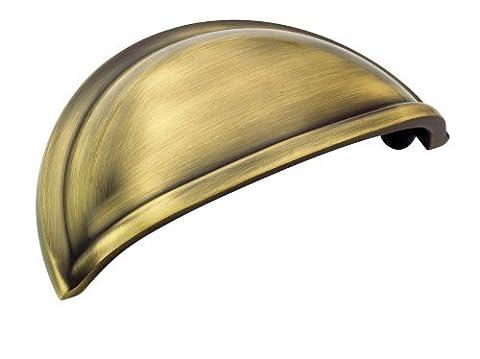 Amerock BP53010EB Allison Value 3in(76mm) CTC Cup Pull - Elegant Brass by Amerock