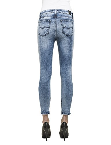 Replay Damen Skinny Jeanshose DW686 .000.661 B19 Blau (Blue Denim 10)
