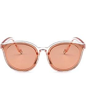 Forepin® Gafas de Sol Mujer Polarizadas Planas Lentes de Protección UV400 Moda Marca Metal el Plastico Espejo...