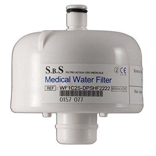 Filter Wasserreiniger für Wasserhahn: entfernt Bakterien, Pilze, Viren - Laufzeit 62 GG.