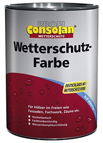 Consolan Profi Wetterschutzfarbe RM 201 weiss 2,5 Liter