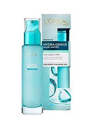 L'Oreal Paris Hydra Genius Liquid Moisturiser Dry and Sensitive Skin 70ml