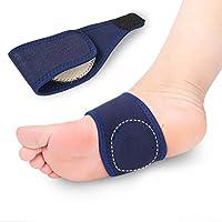 ULTNICE Paar Fußgewölbe Senkfuß Bandage Einlegesohlen Elastisch preisvergleich bei billige-tabletten.eu