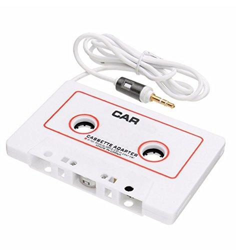 Myfei Auto-Kassettenband-Adapter, Kassetten-MP3-Player-Konverter 3,5 mm, Klinkenstecker AUX-Kabel-CD-Player für iPod, iPhone