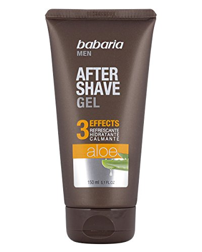 BABARIA MEN aloe vera after shave gel 3 efectos 150 ml (precio: €)