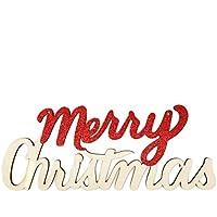 Dooret Alfabeto Anuncio de decoración de Navidad decoración del hogar Navidad Regalo de los niños
