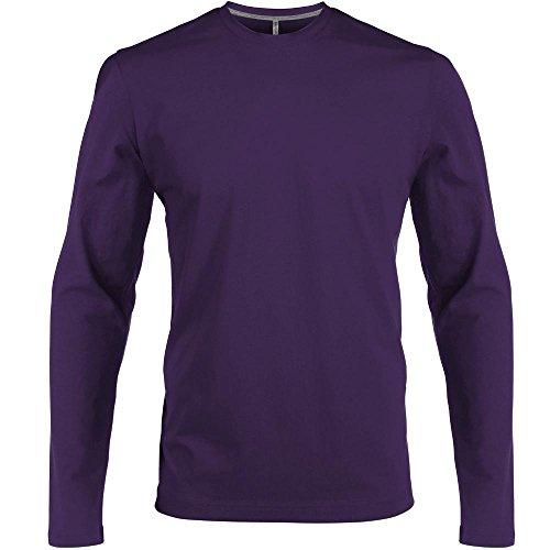 Herren T-Shirt langarm von notrash2003 Lila