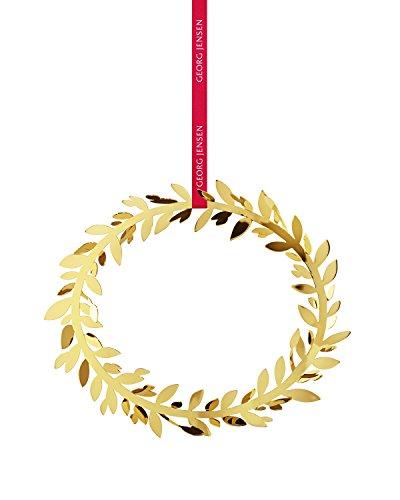 Georg Jensen - Weihnachtsschmuck Magnolia Kranz, Gold Gold Magnolia