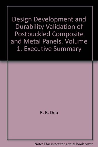 Design Development and Durability Validation of Postbuckled Composite and Metal Panels. Volume 1. Executive Summary -