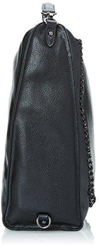 Gaudì Backpack-Linea Agata-cm.35 x 35 x 12, Borsa a Mano Donna, 35 x 35 x 12 cm (W x H x L) Nero (Black)