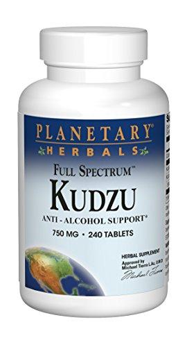 Anti-alkohol (Planetary Herbals Full Spectrum Kudzu, 240 Tabs)