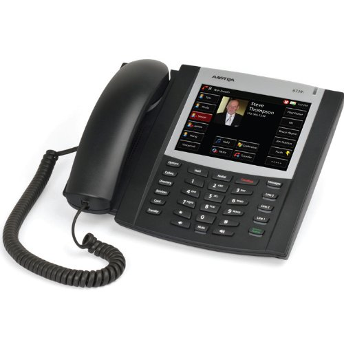"DeTeWe 6739i Aastra VoIP SIP Telefon, 5,7"" (14,5) cm Farb-Touchscreen-Display, PoE (ohne Netzteil), Bluetooth"