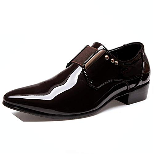 Qianliuk Männer Oxford Schuhe Lace Up Business Hochzeitskleid-Schuhe