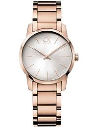 Calvin Klein ck city K2G23646 - Reloj analógico de cuarzo para mujer a5fa3d5dde0c