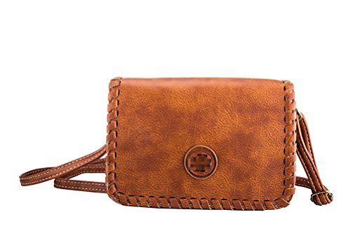 Honeymall Damen & Mädchen kleine Mini Crossbody Vintage Clutch Tasche Umhängetasche Handtasche