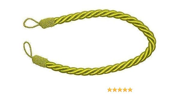 Raffhalter Limette Grün Dick Großes Seil Satin Für Vorhänge 81cm