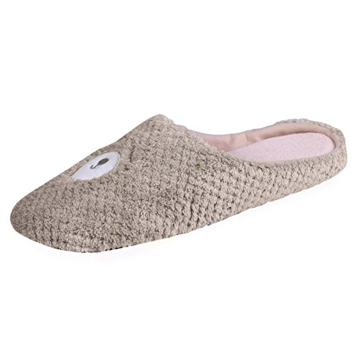 Chaussons Mules Femme Animal