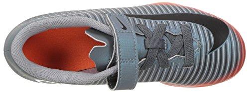 Nike Jr Mercurial Vortex Iii (V) Cr7 Fg, Chaussures de Football Mixte Enfant, Gris Gris (Cool Grey/mtlc Hematite-wolf Grey-total)
