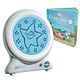 Sleep Trainer Clock with Night Light for Children Kids Baby & Toddler by Gro-Clock