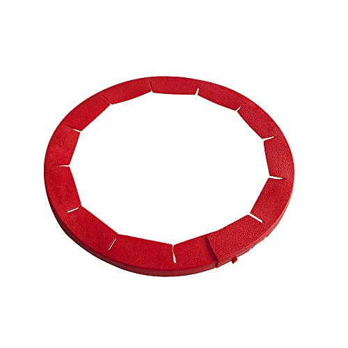 AMhomely Silikon Pie Crust Shield Silikon Fit 8.5-11.5 Zoll gerahmte Schale, einstellbare Pie Ring Silikonrand Ring, Backen Werkzeug, Küche liefert (Rot) Pie Crust Shield