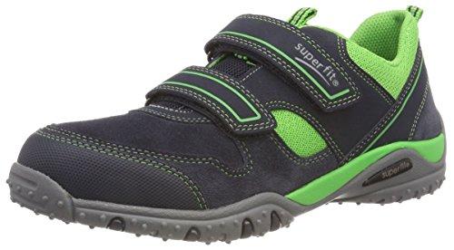 Superfit Jungen SPORT4 Sneaker, Blau (Blau/Grün 80), 41 EU